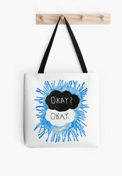 bag,hazel lancaster,the fault in our stars,augustus waters,john green