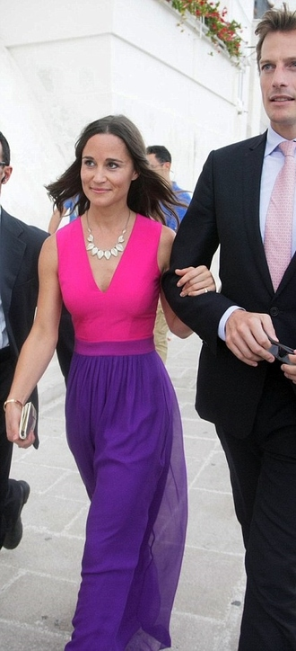 dress maxi dress pippa middleton purple