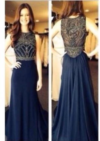 dress prom dress prom blue