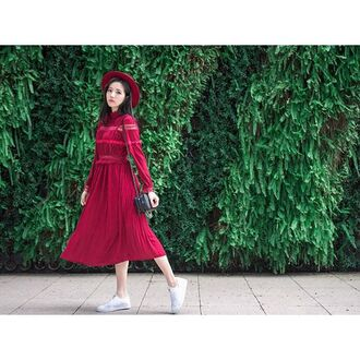 dress red dress red winter red storets lace dress lace up midi dress streetwear streetstyle