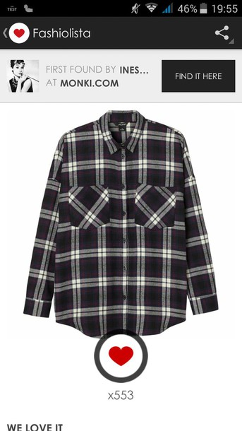 shirt chemise ? carreaux