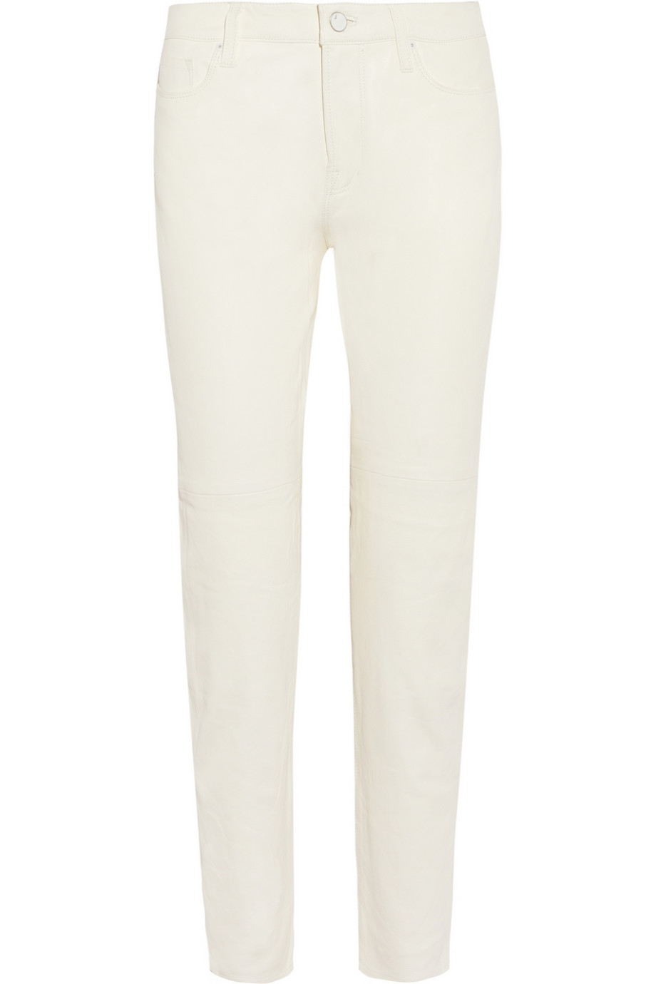 Paulette mid-rise boyfriend-fit leather pants | THE OUTNET