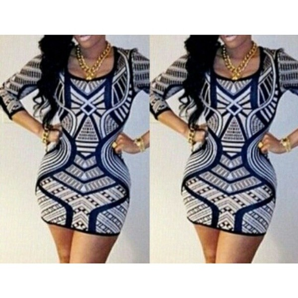 pattern short dress cute dress sleeves long sleeve dress yass aztec gold jewelry