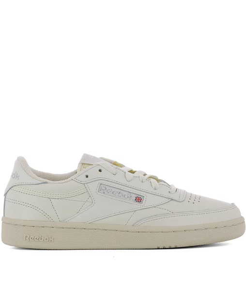 reebok sneakers leather white shoes