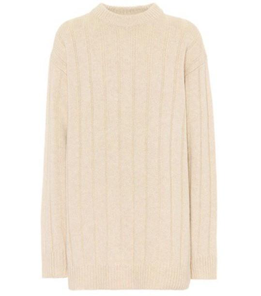 The Row sweater beige