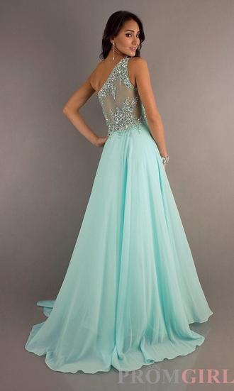 dress prom dress long prom dress blue dress embellished