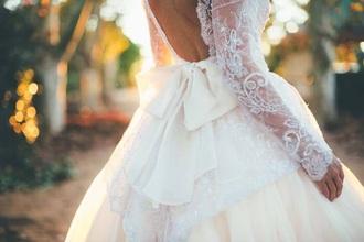 bows wedding dress princess wedding dresses