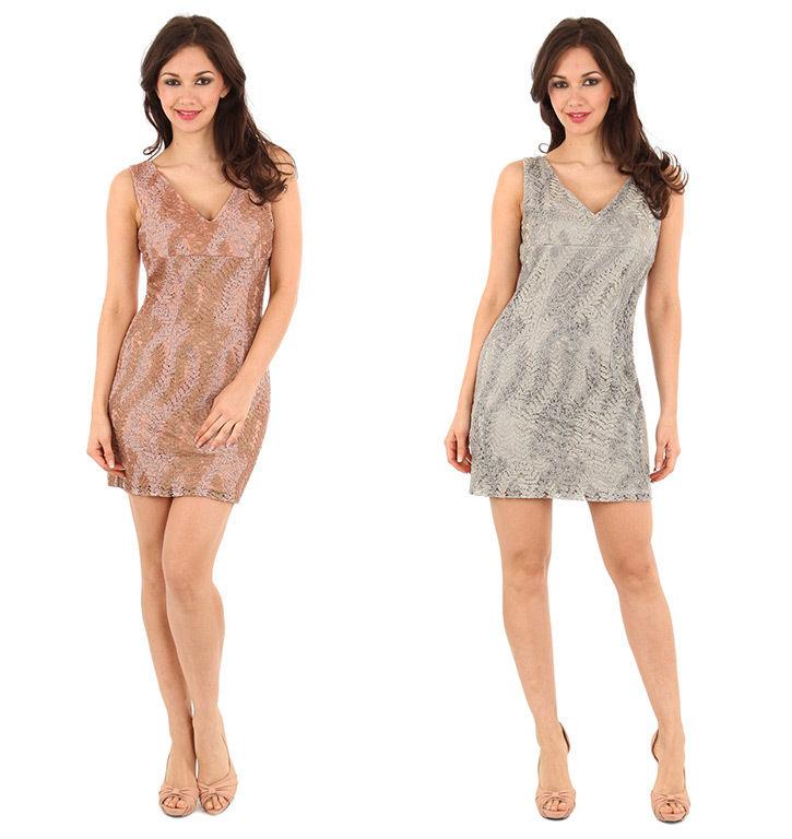 Goddiva Beaded Lace Dress | eBay