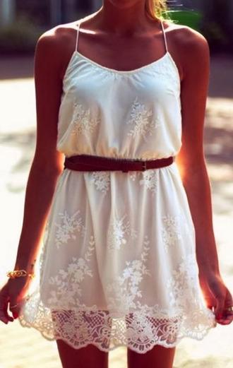 dress white airy summer sundress summer dress