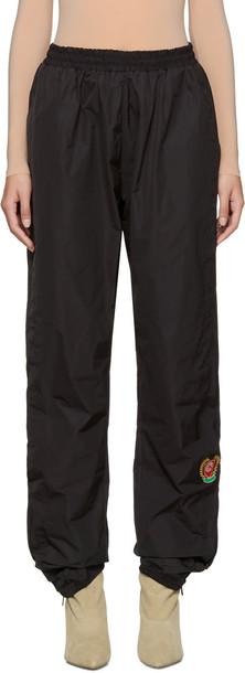 yeezy pants track pants black