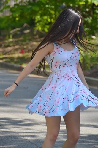 dress cherry blossom sundress