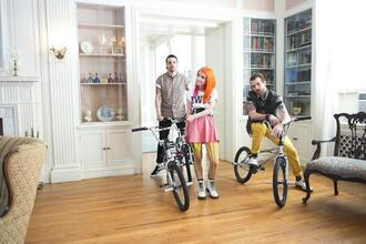 paramore kawaii tights