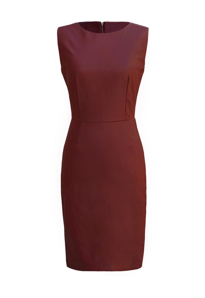 Leather Celine Dress — LAST NIGHT