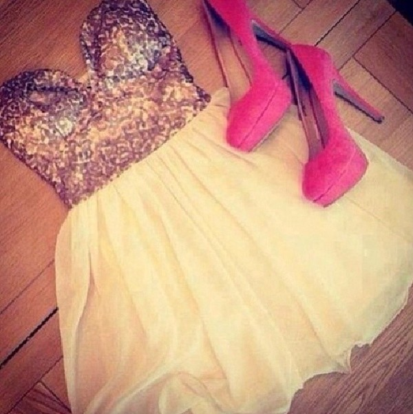 shirt cute girly white skirt crop tops high heels pink dress sparkle