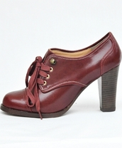 medium heels,high heels,low boots,derbies,red shoes,brown shoes,orange shoes,lace up boots,shoes