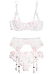 underwear,lace,clothes,lacy,sexy,sexy lingerie,lingerie,lacy lingerie,lace white lingerie,floral lingerie,top,bottoms,mesh lingerie,panties,bra,lace bralette,bralette