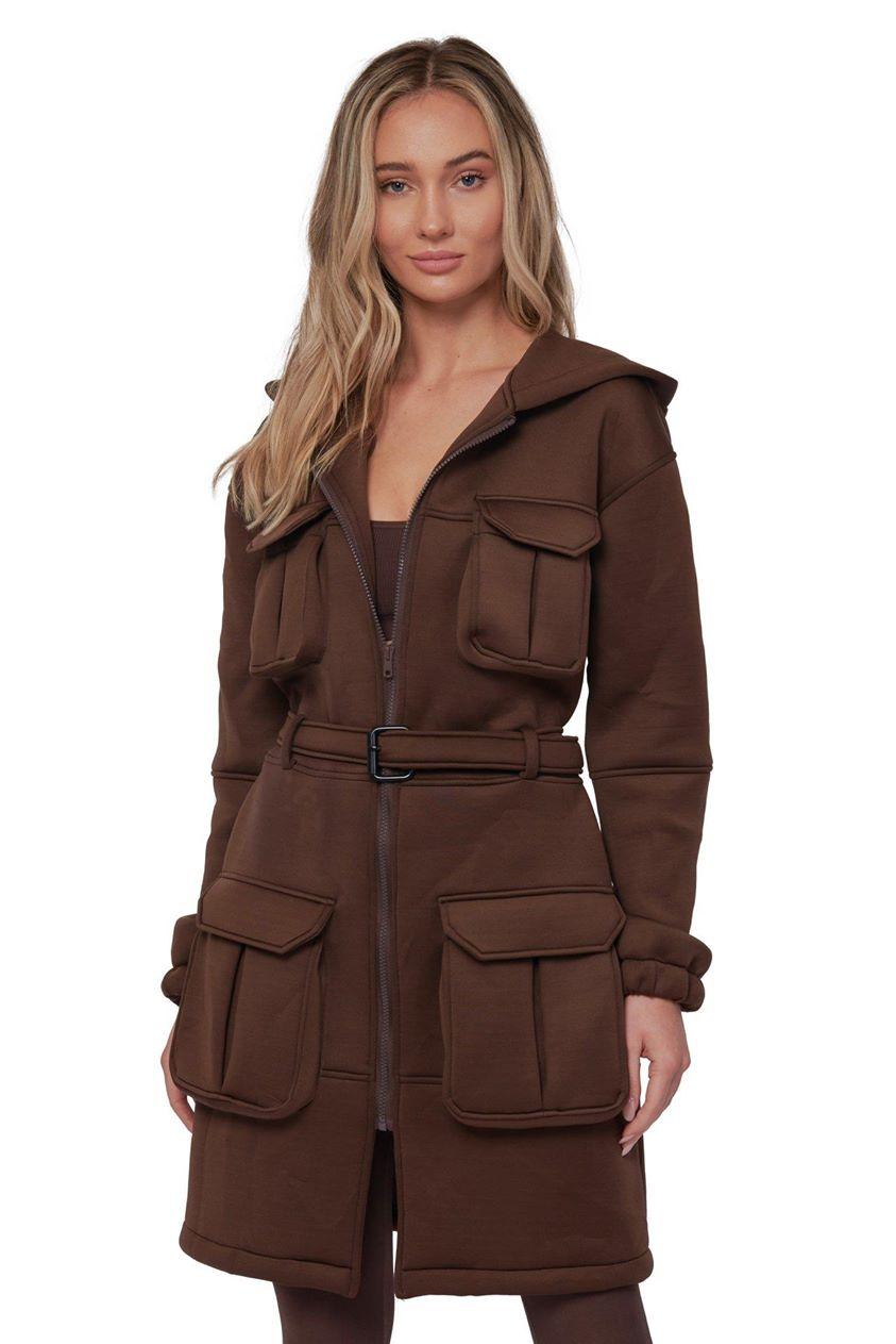 Swiss Miss Trench Coat