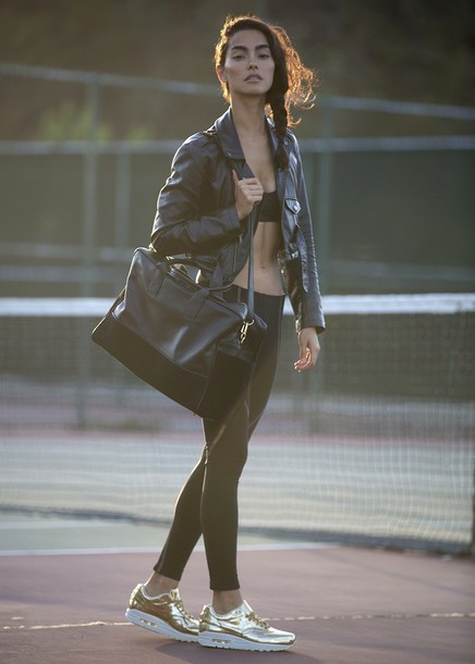 sweat the style jacket bag underwear tights shoes