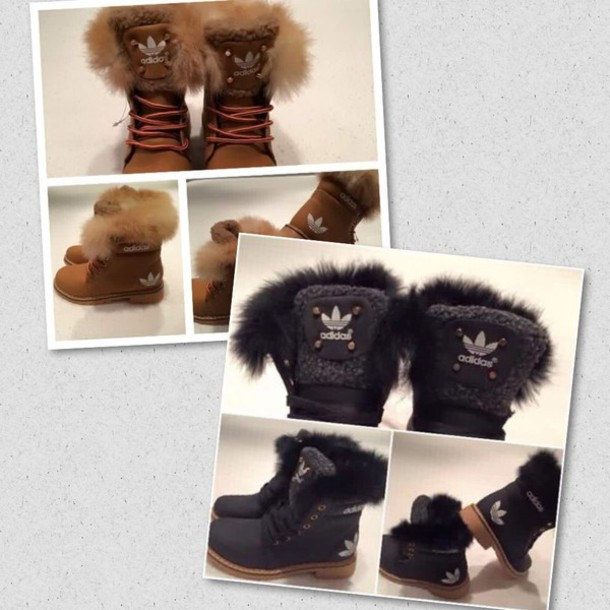 shoes, adidas, boots, brown, black