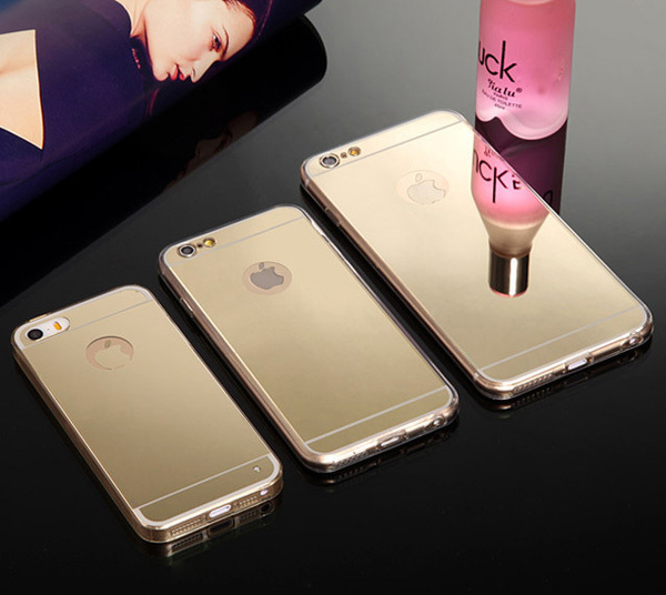 info for 4c8a6 17d91 Online Shop Hot! Luxury Mirror Electroplating Soft Clear Tpu Phone Cases  For iPhone 6 Plus 6 4.7