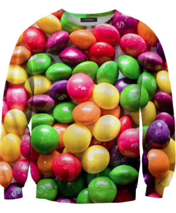 sweater food food sweater food skittles