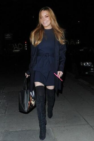 dress boots knee high boots over the knee boots lindsay lohan fall outfits