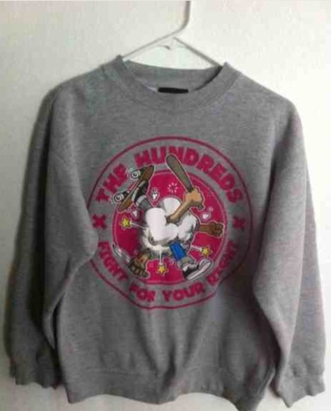 crewneck the hundreds