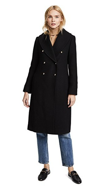 Club Monaco coat black
