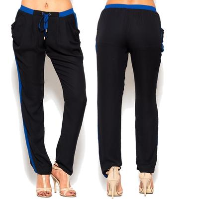 Black and blue jogger pants · trendyish · online store powered by storenvy