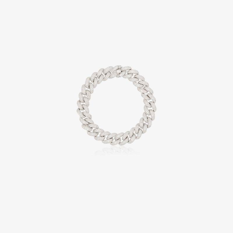 Shay 18K white Gold Diamond Link Bracelet