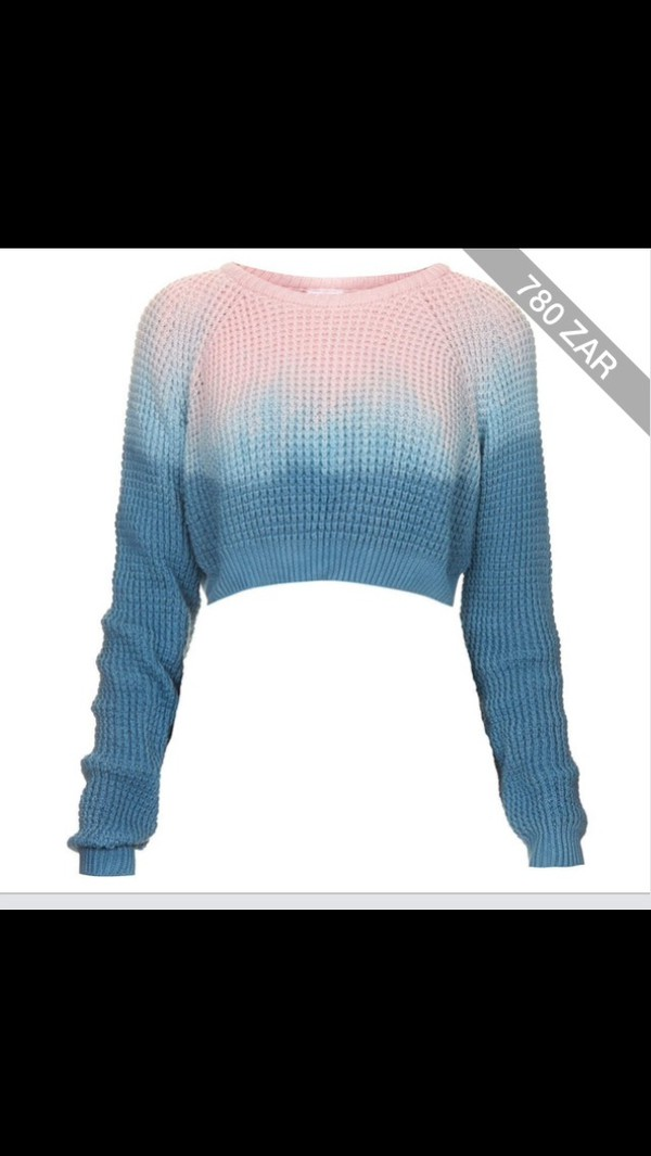 sweater winter outfits cold ombre crop crop tops