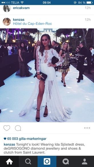dress beautiful ida sjöstedt white dress prom dress beautiful dresses kenza