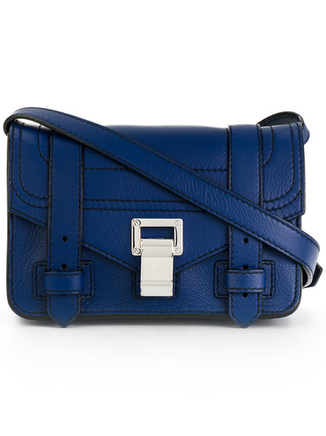 Proenza Schouler women bag leather blue