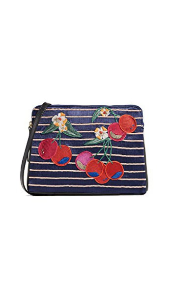 Lizzie Fortunato clutch cherry bright bag