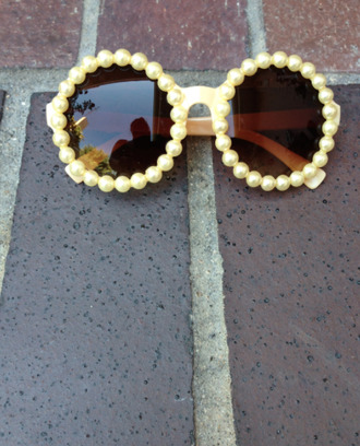 sunglasses pearly sunglasses pearl yellow sunglasses