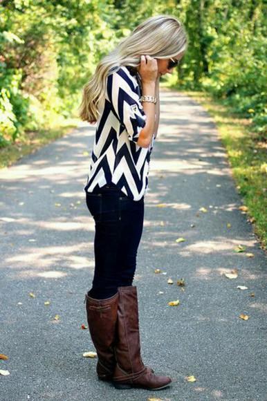 blouse chevron chevron blouse chevron top