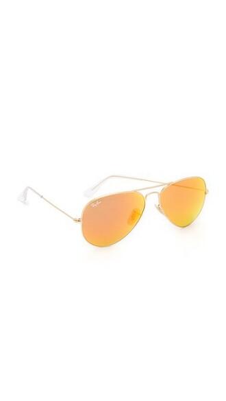matte classic sunglasses aviator sunglasses gold red