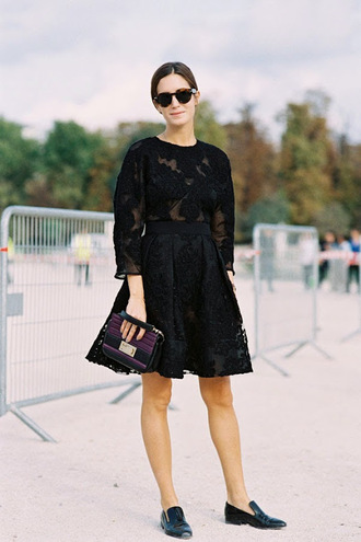 blouse see through blogger clutch vanessa jackman sunglasses