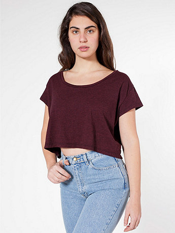 Loose Crop Tee | American Apparel