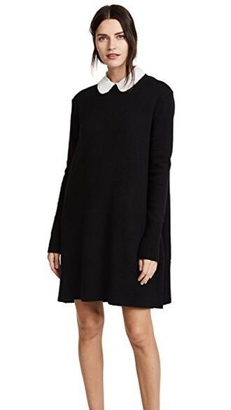 dress swing dress black