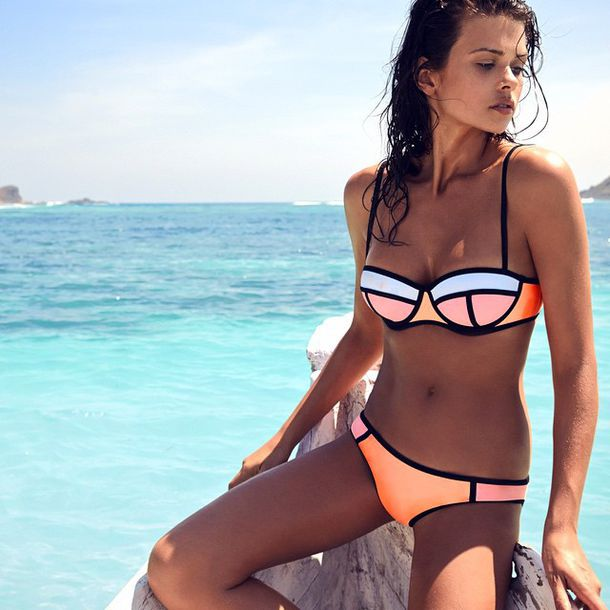 swimwear triangl bikini summer triangle bikini