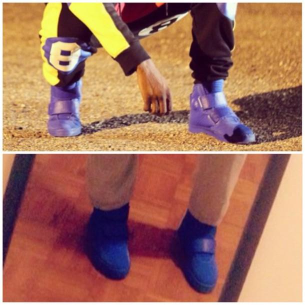 shoes blue royal blue straps 2 straps high top blue shoes