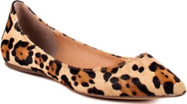 ccc72f5512d6 shoes flats steve madden leopard print
