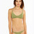 Frankie's Bikinis - Kaia | Camo Green Braided Bikini Top
