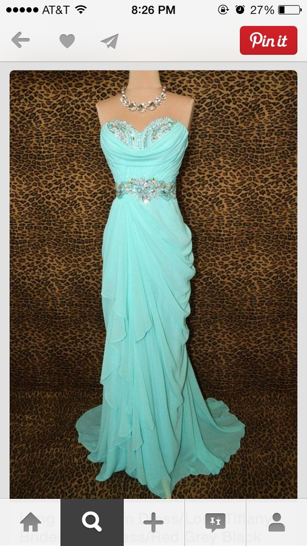 dress aqua / teal prom dress blue dress prom dress mermaid style prom dress cheap long evening dresses