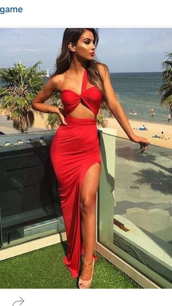 f1e63ffe48 dress red dress red prom dress long red prom dress red prom dress dress  bodycon bodycon