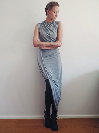 martina m blogger dress leggings