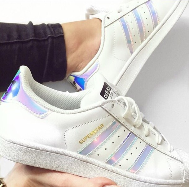 Superstar Adidas Adidas Iridescent White Superstar TSqwEzS