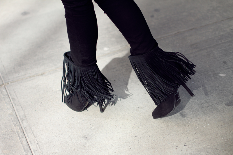 fringe boots | Fashion Squad