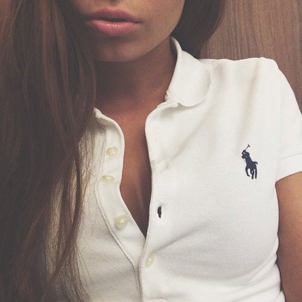 Women S Ralph Lauren Polo Big Pony T Shirt In White With